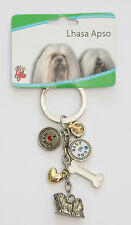 Lhasa Apso Key Chain - Little Gifts