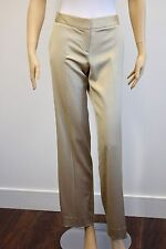 SFERA WOMEN'S GOLD STRAIGHT LEG DRESSY PANTS WITH POCKETS SIZE 38/4US small