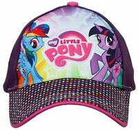 Hasbro Twilight Sparkle and Rainbow Dash My Little Pony Baseball Cap, 4-8 Years