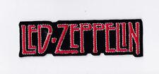 LED ZEPPELIN     PATCH   ECUSSON  Patch thermocollant nom rouge