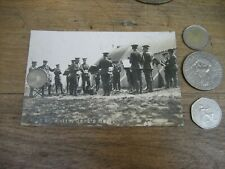 1911 Cambridgeshire Regiment band postcard