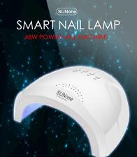 Lámpara de Uñas de Gel Secador de Uñas 48W UV LED SunOne polaco temporizador automático Sensor de luz de curado