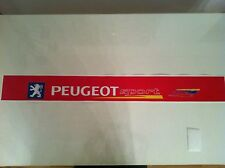 Sticker autocollant  Bande Pare Soleil Peugeot Sport 106 Rallye 2 ROUGE RED