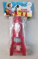 """large 10"""" 3 Stage CAP ROCKET cap firing cap bomb with Astronaut MINT in package"""