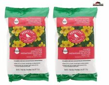 2 Perky Pet Hummingbird Instant Nectar Concentrate 2lb Bag Red