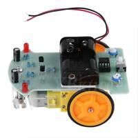 2WD Smart Car DIY Kit Tracking Robot Car Chassis Reduction Motor For Arduino NEW