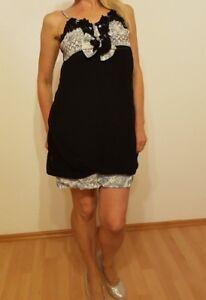 Sexy Minikleid,Sommerkleid,Trägerkleid im Babydoll Look,E-Größe 32-34-36-38