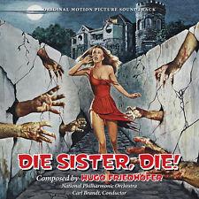 Die Sister Die - Complete Score - Limited Edition - OOP - Hugo Friedhofer