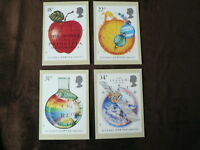 Royal Mail PHQ Stamp Cards, 1987, 1988, 1989, 1990, 1991, Mint, Unused
