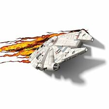 Star Wars Épisode 7 LED 3d FX Déco Mur Humeur Veilleuse & Autocollant Faucon Millenium