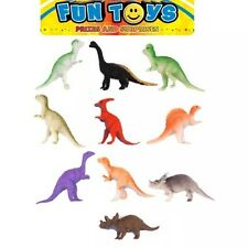 24x Mini DINOSAUR FIGURES Party Bag Stocking Filler Prize Wild Animal TOY Assort