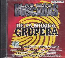 GRUPO MOJADO SUPER SAMMY LAS MAS BUSCADAS DE LA MUSICA GRUPERA CD Nuevo Sealed