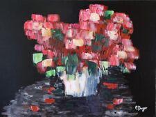 Dutch inspired flower bouquet still life original painting