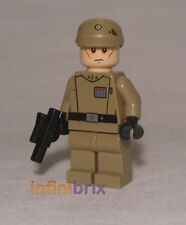 Lego Imperial Officer (Dark Tan) from Sets 75082 + 75106 Star Wars NEW sw623