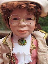 "William Tung Designer Series Porcelain Doll Benjamin 20"" 1993 COA"