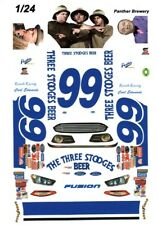 #99 Carl Edwards 3 Stooges Beer 1/24th - 1/25th Scale Waterslide Decals