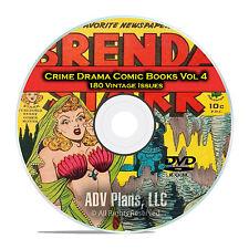 Crime Drama, Suspense, Vol 4, Spy Hunters, The Saint, Golden Age Comics DVD D77