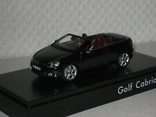 VW Golf VI Cabrio deep schwarz 1:43 VW/Schuco neu &  OVP 5K7.099.300.JCO