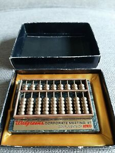Collectible Limited Walgreens Abacus 1997 corporate meeting compliments of Atico