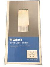 Wickes Tuxo Glass Light Shade