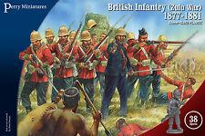 **BNIB** PERRY MINIATURES BRITISH INFANTRY ZULU WAR 1877 - 1881