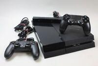 Sony PlayStation 4 500 GB [inkl. 2 Wireless Controller,  mit technischen Mängeln