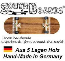 EDEL Board SET WENGE/GO/SWZ - SOUTHBOARDS® Handmade Wood Fingerboard Deck, Holz