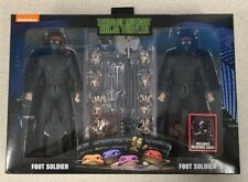 NECA TMNT Movie Walmart Exclusive FOOT Soldier  2-Pack figure IN HAND!! New