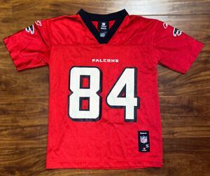 REEBOK Atlanta Falcons RODDY WHITE NFL Jersey YOUTH KIDS Size Small
