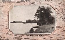 (602) Postcard  of Sandy Pond, Ayer, Mass.