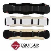 LeMieux Merino 100% Lambskin Wool Dressage Shaped Girth Cover