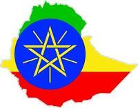 Sticker car moto map flag vinyl outside wall decal macbbook ethiopia ethiopian