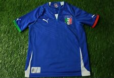ITALY NATIONAL TEAM 2013/2014 FOOTBALL SHIRT JERSEY HOME PUMA ORIGINAL YOUNG M
