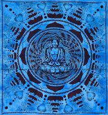 Buddha hippie bohemian indian cotton mandala tapestry wall hanging bedspread