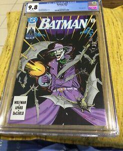 BATMAN #451 CGC 9.8 DC COMICS 7/90 JOKER APPEARANCE NORM BREYFOGLE COVER