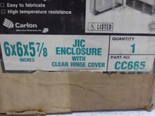CARLON CIRCUIT SAFE NON-METALLIC ENCLOSURE CC665 NIB