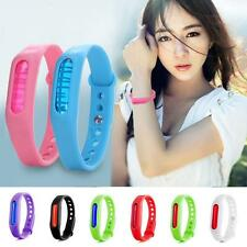 Pest Bug Mosquito Repellent Bracelet Anti Mosquito Bug Candy Silicone Wrist Band
