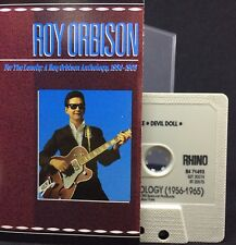 ROY ORBISON For The Lonely, Anthology 1956-1965 (Cassette Tape, Rhino) NEAR MINT