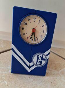 Wecker Schalke 04 UEFA CUP SIEGER 1997 Uhr S04 Fussball Fan Artikel Rarität alt