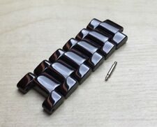 6 TOP fixed CERAMIC links Fits Emporio Armani AR1422/AR1423 watch strap/band