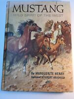 1966 Mustang Wild Spirit of the West Marguerite Henry HARDCOVER