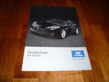 Hyundai Coupe Prospekt 02/2007