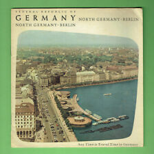 #T61.   1950s  TRAVEL GUIDE BROCHURE   BERLIN & NORTH GERMANY