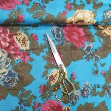 100% Cotton Indian Printed Floral Soft Summer Dress Material Fabric 112cm Wide