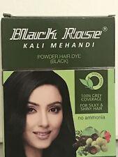 Black Rose Kali Mehandi Powder Hair Dye Black+ Free Gift
