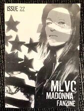 Madonna MLVC Magazine 22. FANZINE. UK FANCLUB. MINT. American Life Special