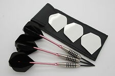 19g - 32g Tungsten Darts set, John Lowe Type, Bomber Darts, Flights, Stems, Case