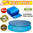 8/10/15Ft Solar Pool Round Inflatable Fast Set Swimming Paddling Pool PE Cover