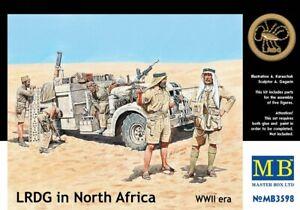 MAS3598 - Masterbox 1:35 - LRDG in North Africa WWII