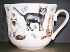 Roy Kirkham Large Breakfast Cup 'Cats Whiskers' Fine Bone China NEW